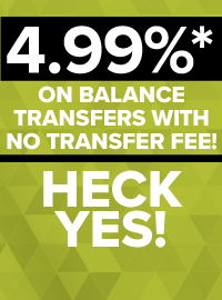 Transfer Your Credit Card Balances