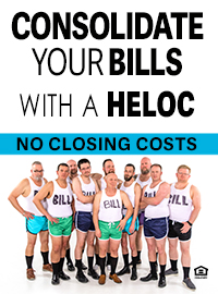 Consolidate Your Bills with a HELOC from Community Choice