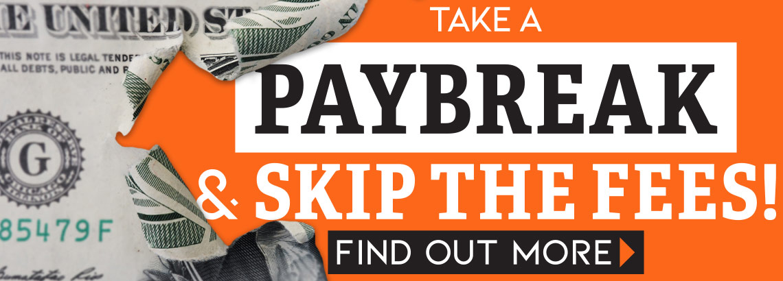 Take a PayBreak and skip the fees